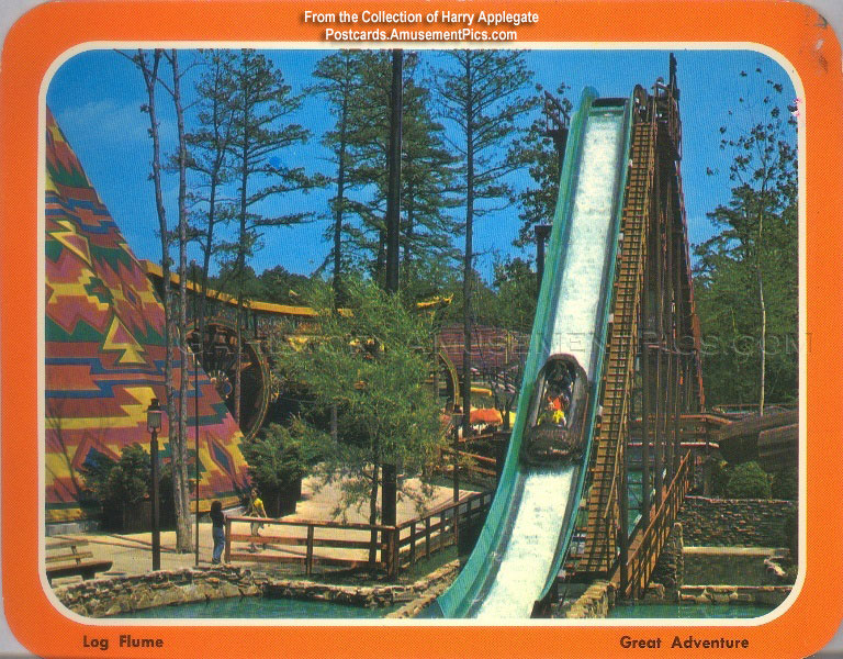 Great Adventure Postcards of the Late 1970's